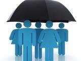 Голубые человечки под чёрным зонтом